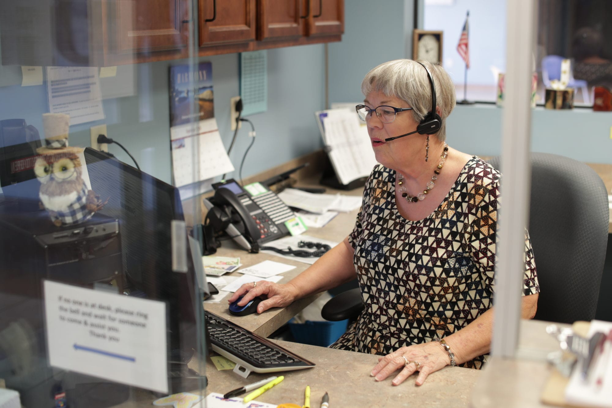 Administrative Assistant Janet at SADI in Missouri
