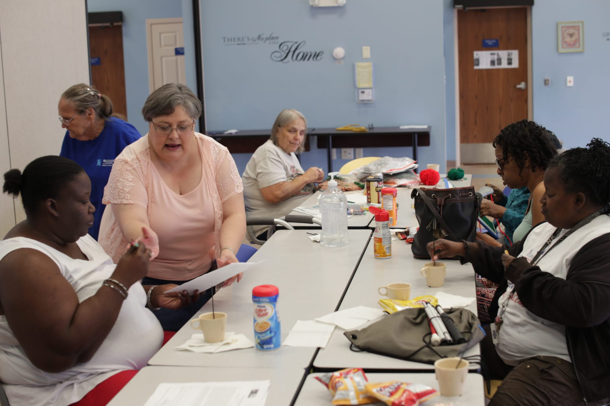 One of the social groups that meet at SADI in Missouri