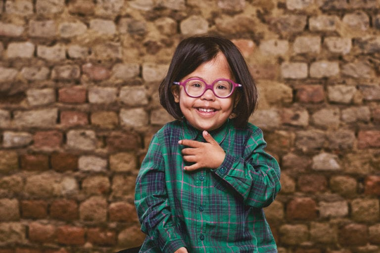 Down Syndrome Young Girl
