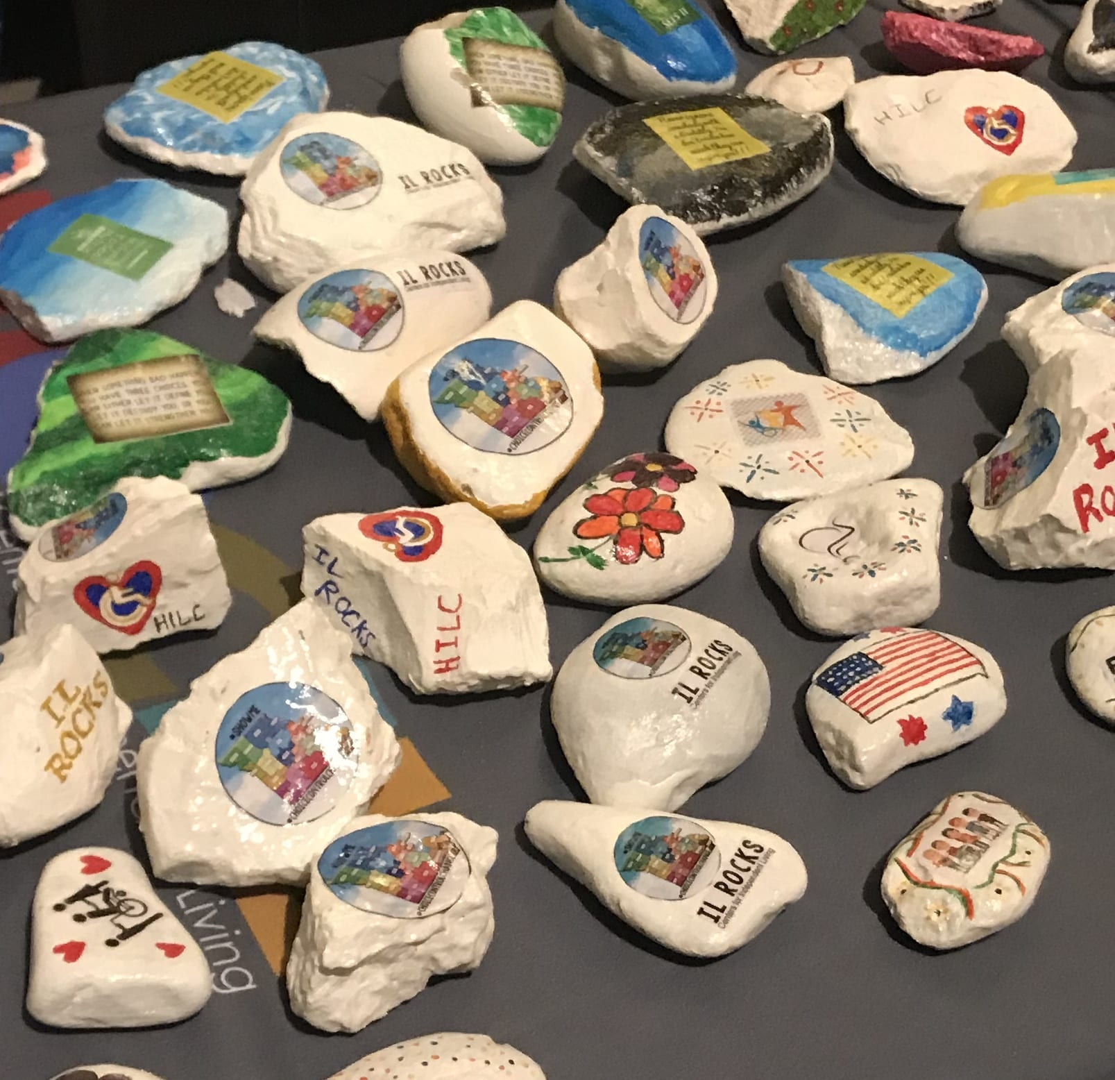 Painted Rocks for SEMO Alliance for Disability Independence