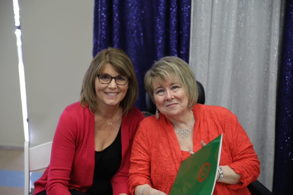New Executive Director Donna Thompson and Founding Executive Director Miki Gudermuth